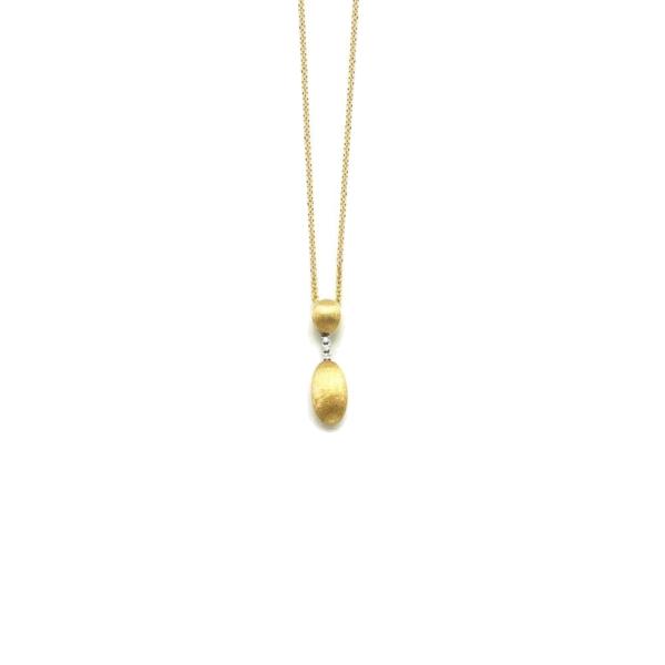 Closeup photo of Dancing Elite Small Drop Necklace