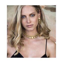 Closeup photo of Ivy Diamond Drop Earrings