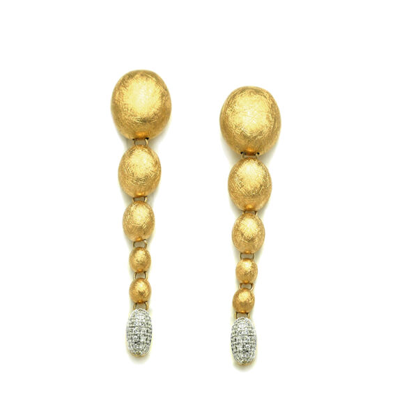 Closeup photo of Ivy Diamond Drop Earrings