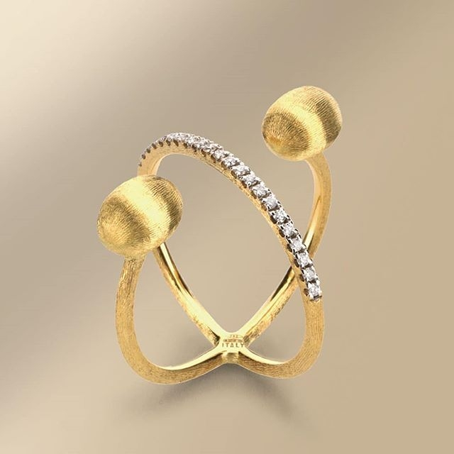 Image 3 for Twist Dancing Elite Ring with Diamonds