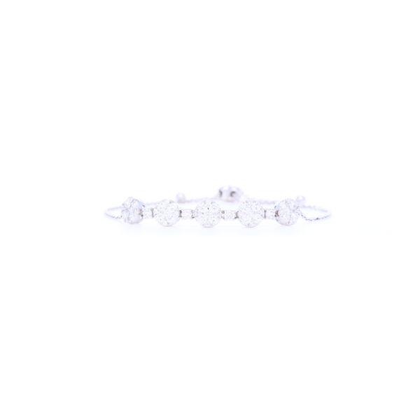 Closeup photo of Prong Round Diamond Bolo Bracelet DIA: 1.47tcw