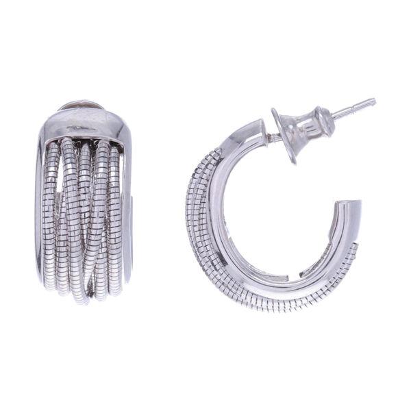 Closeup photo of Small Huggie Earring