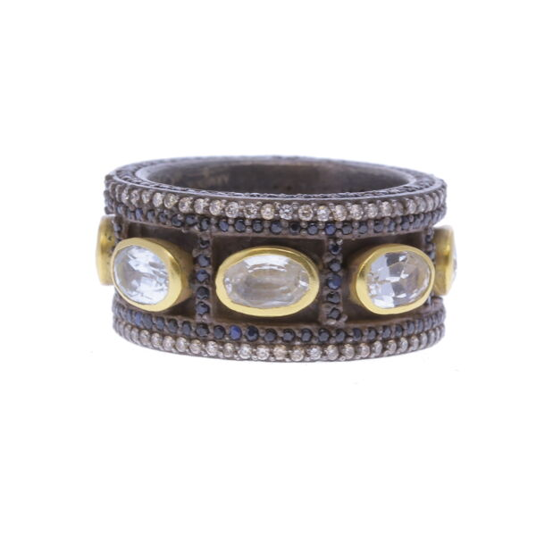 Closeup photo of Wide Band Ring - 12445