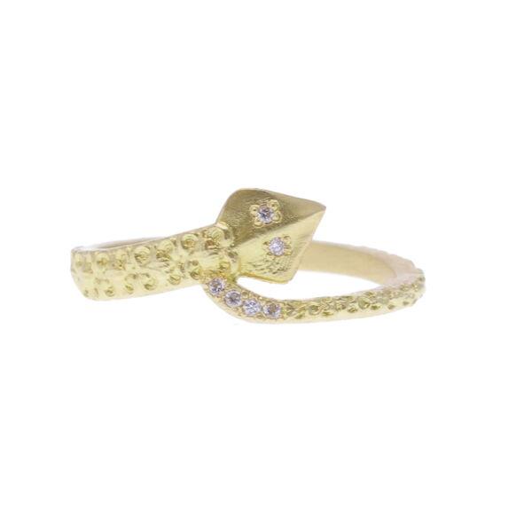 Closeup photo of Serpent Ring - 14174