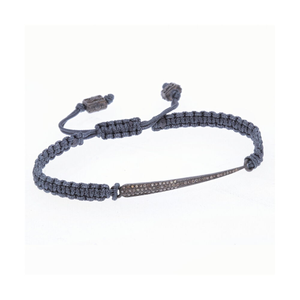 Braided Diamond Bracelet