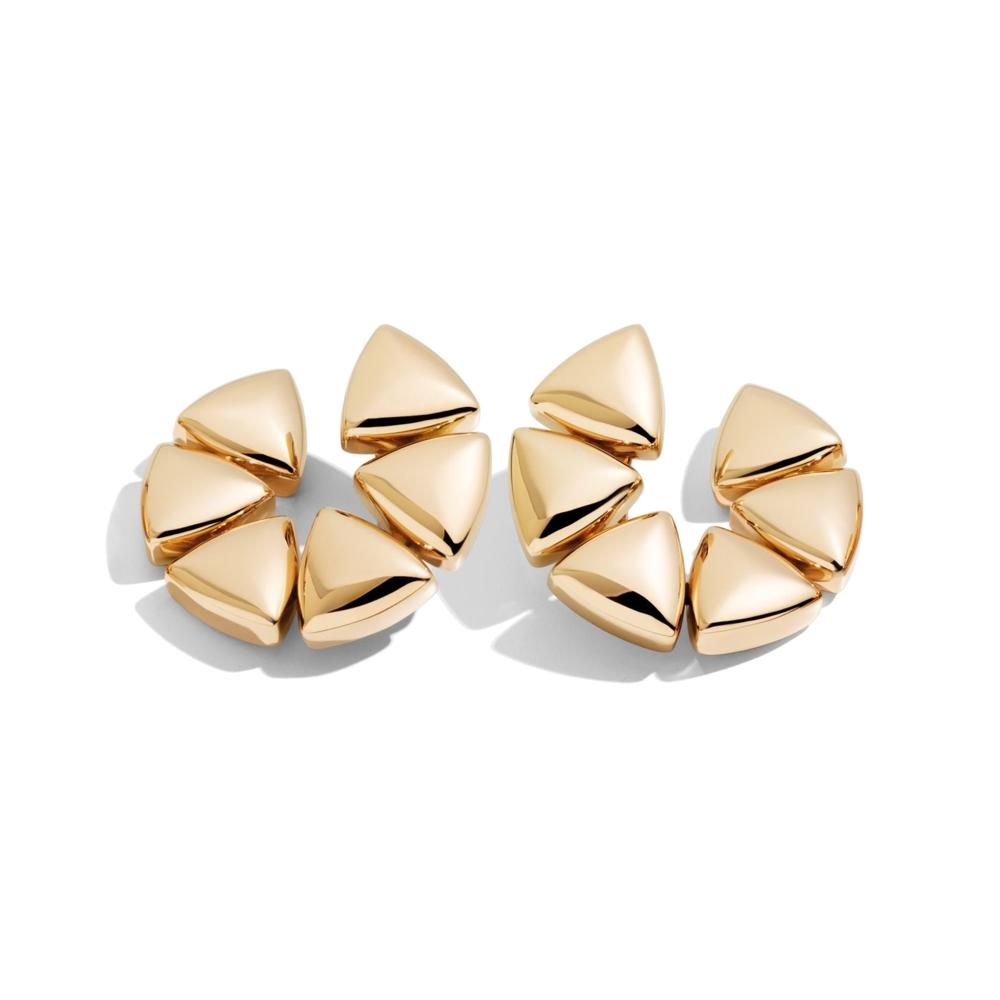 18k Rose Gold Clip-On Freccia Earrings