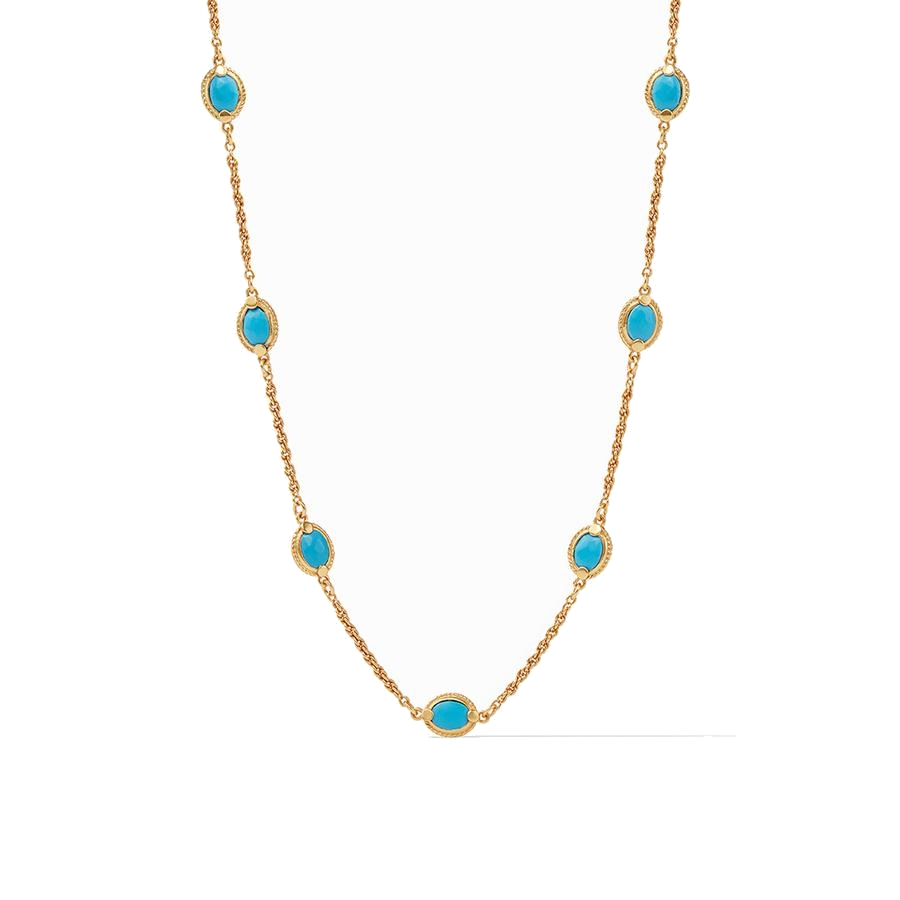 Calypso Demi Delicate Station Necklace