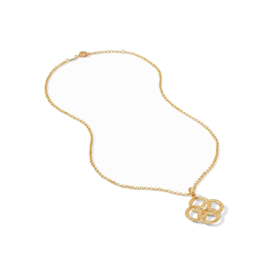 Image 2 for Chloe Pendant Gold Pearl