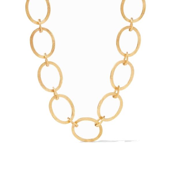 Closeup photo of Aspen Link Necklace