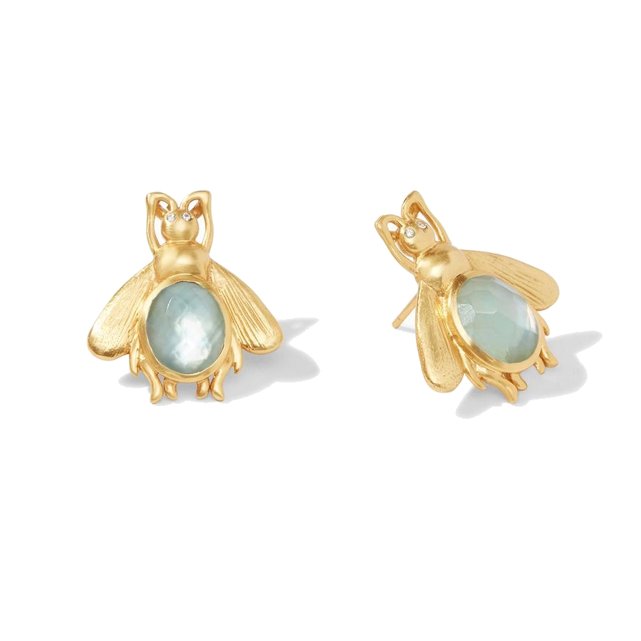 Image 2 for Bee Stone Earring