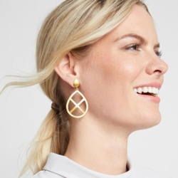 Closeup photo of Aspen Statement Earring