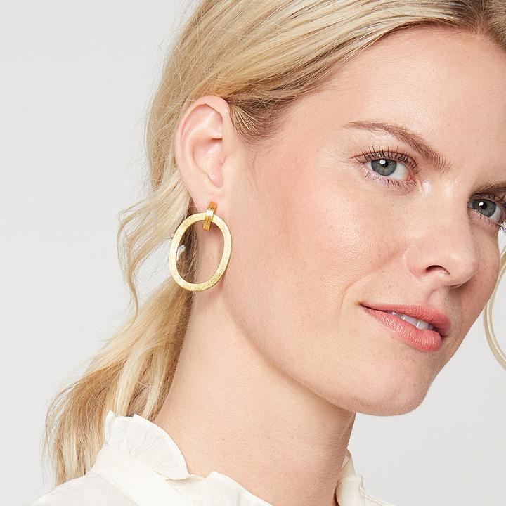 Image 2 for Aspen Doorknocker Earring