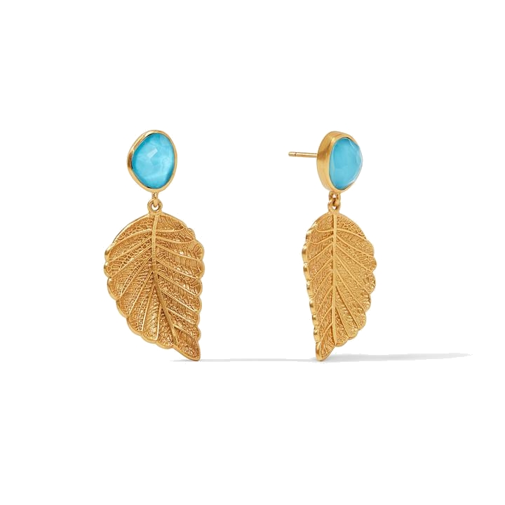 Image 2 for Aspen Leaf Earring