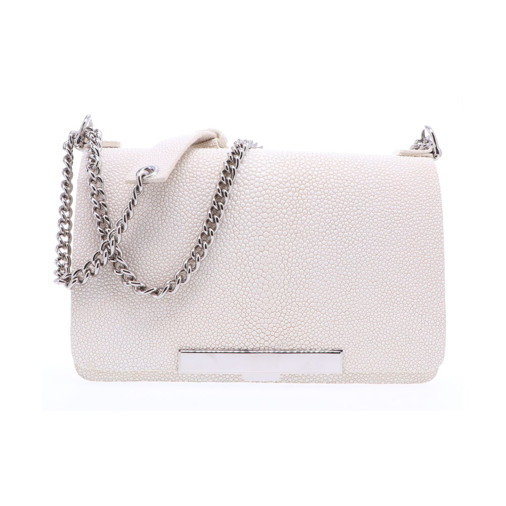 Image 2 for Eggshell Stingray Chain Bag