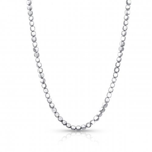 Ice Cube Long Chain Necklace