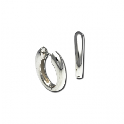 Snap Hoop Earrings