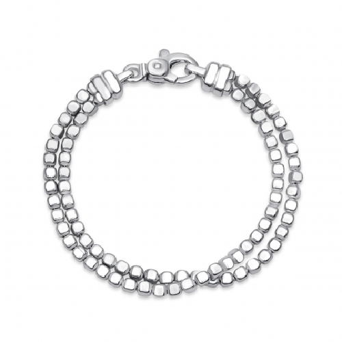 Double Ice Cube Bracelet