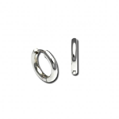 Small Snap-Hoop Earrings