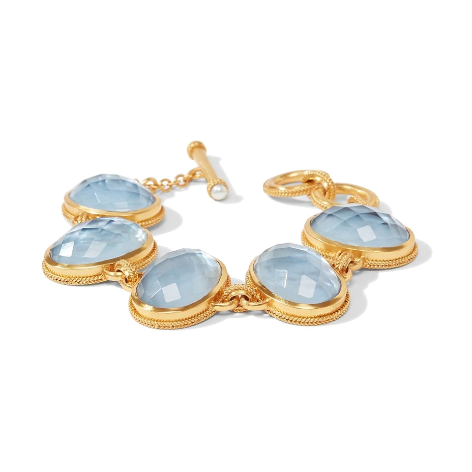 Image 2 for Calypso Bracelet - Irridescent Chalcedony Blue