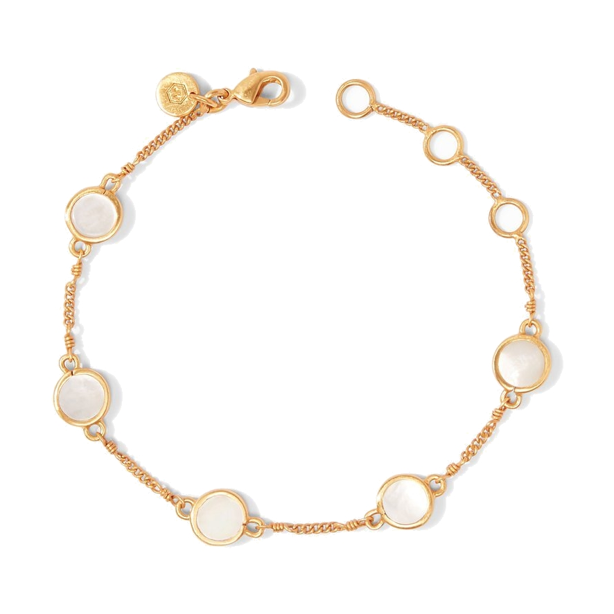 Valencia Delicate Bracelet - Mother Of Pearl