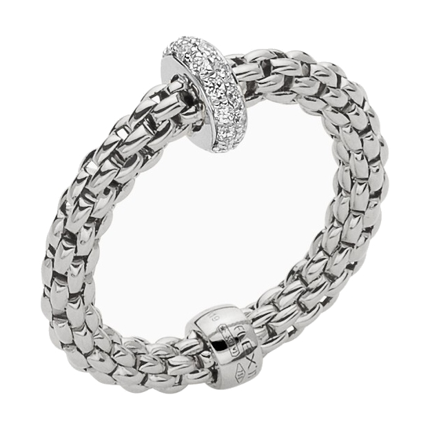 Flex-it Ring With Diamonds