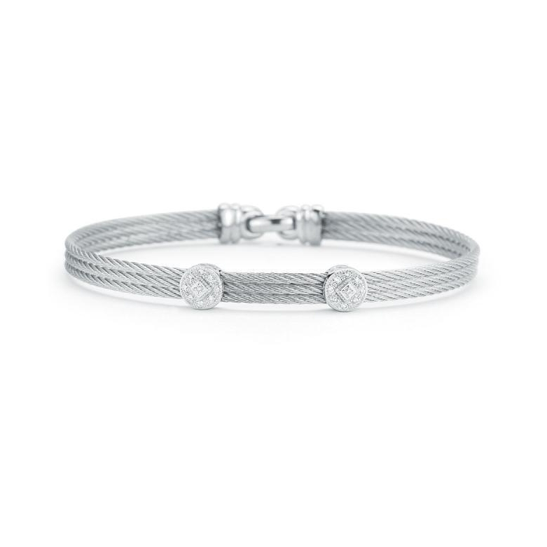 Image 2 for Classique Two Circled Station Bangle