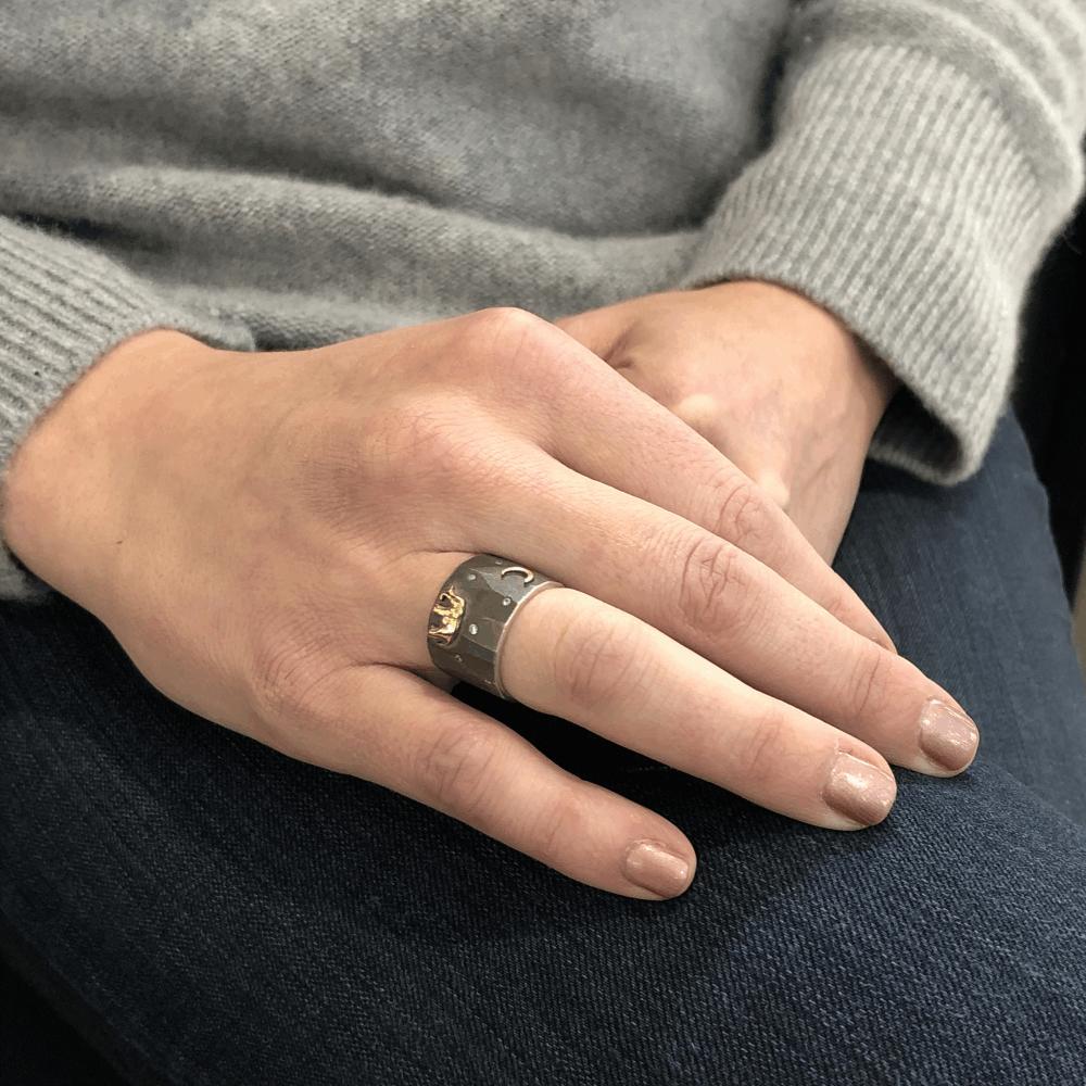 Image 2 for Silver Tsavo Nights Ring