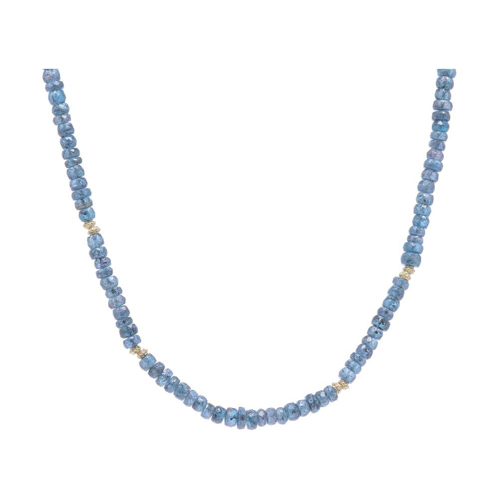 Kyanite Beaded Necklace