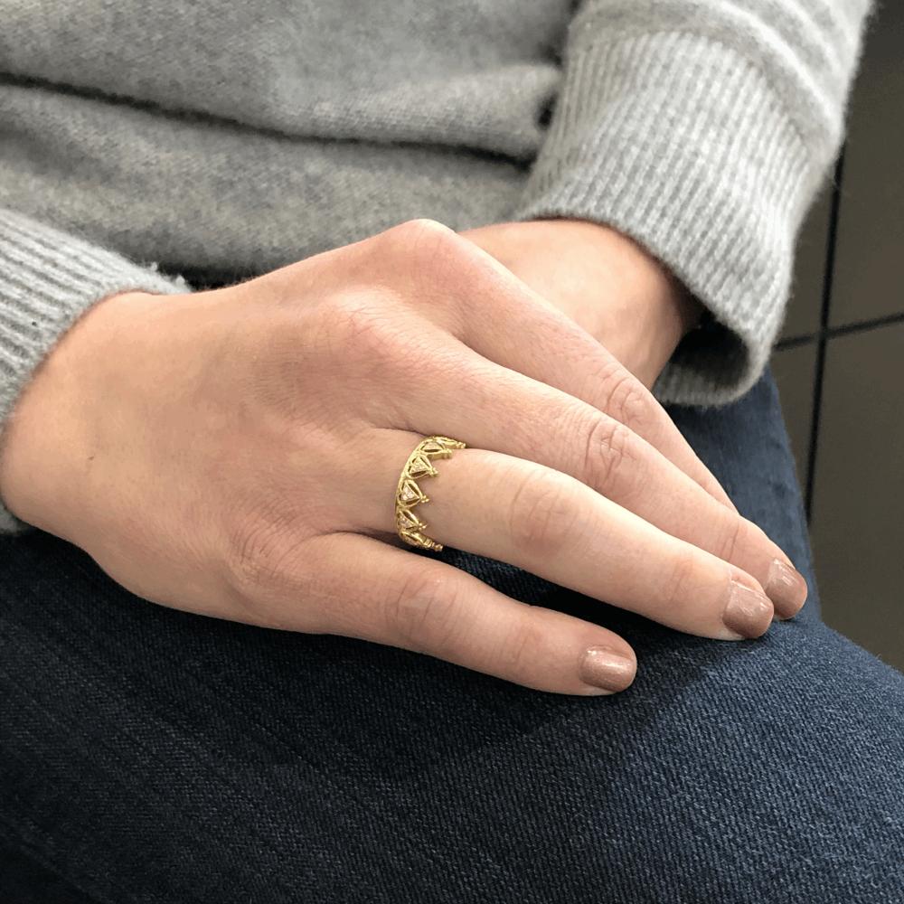 Image 2 for Diamond Beverley K Crown Ring