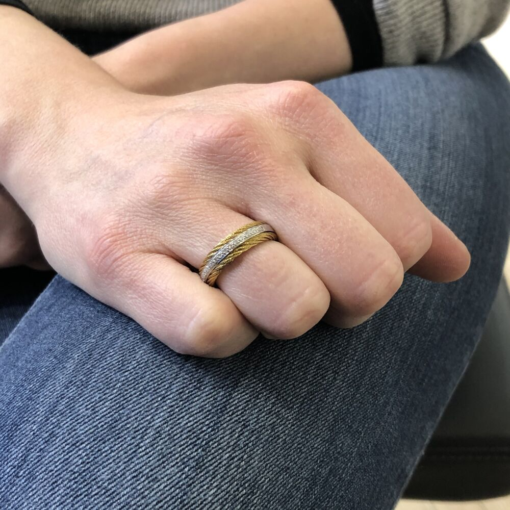 Classique Three Band Ring