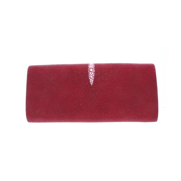 Closeup photo of Red Stingray Evening Clutch