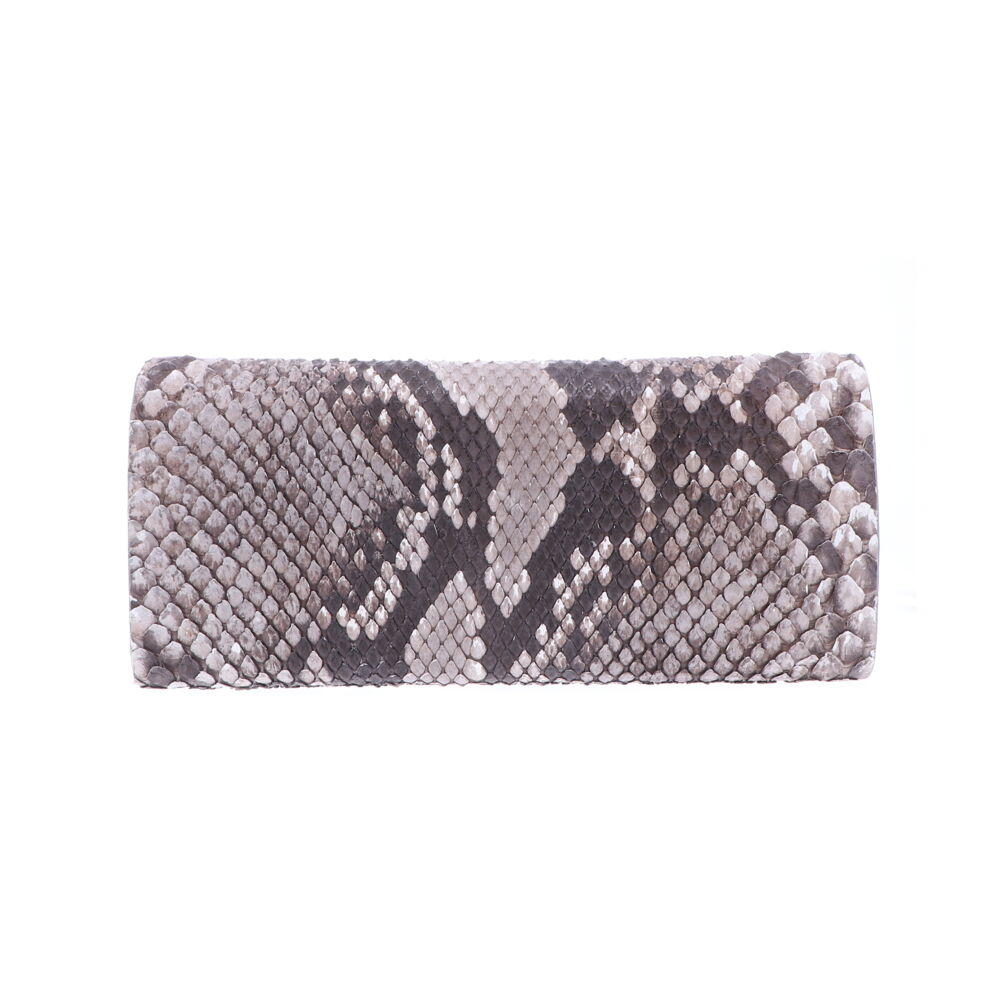 Image 2 for Natural Python Evening Clutch
