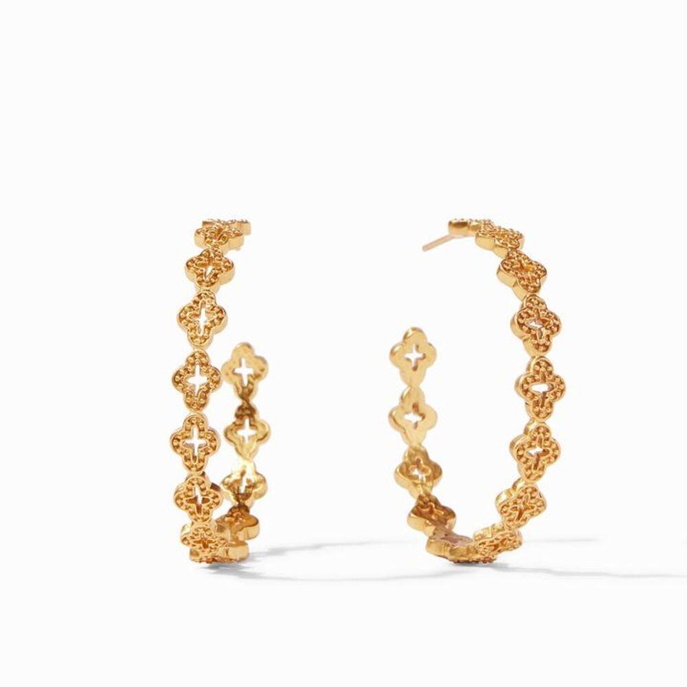 Image 2 for Florentine Hoop Earrings