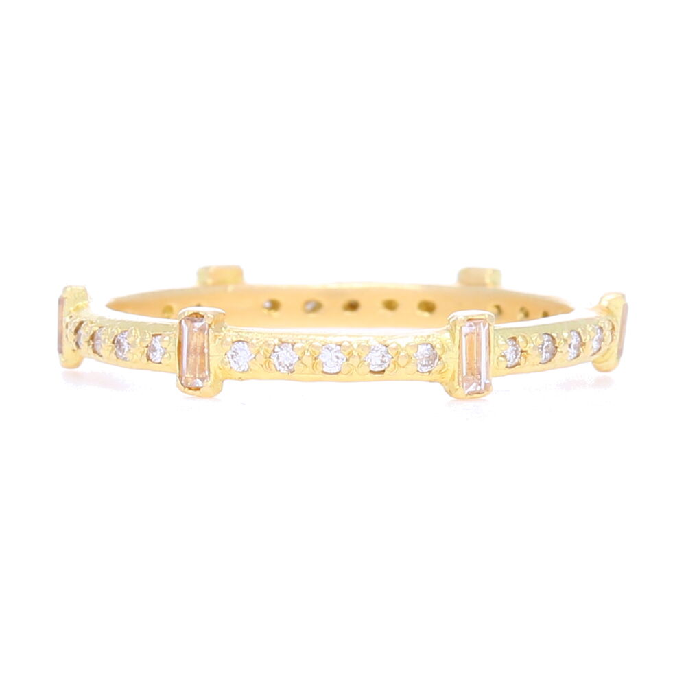 18k Yellow Gold Ring - 13537