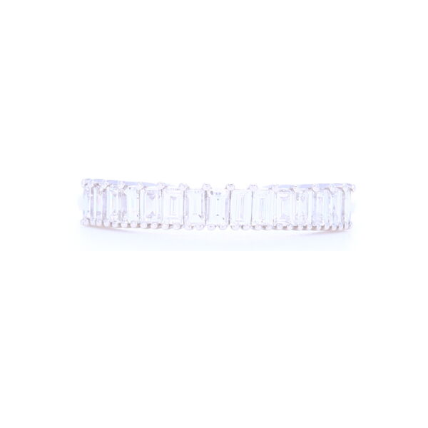 Closeup photo of Baguette Diamond 1/2 Stack Ring