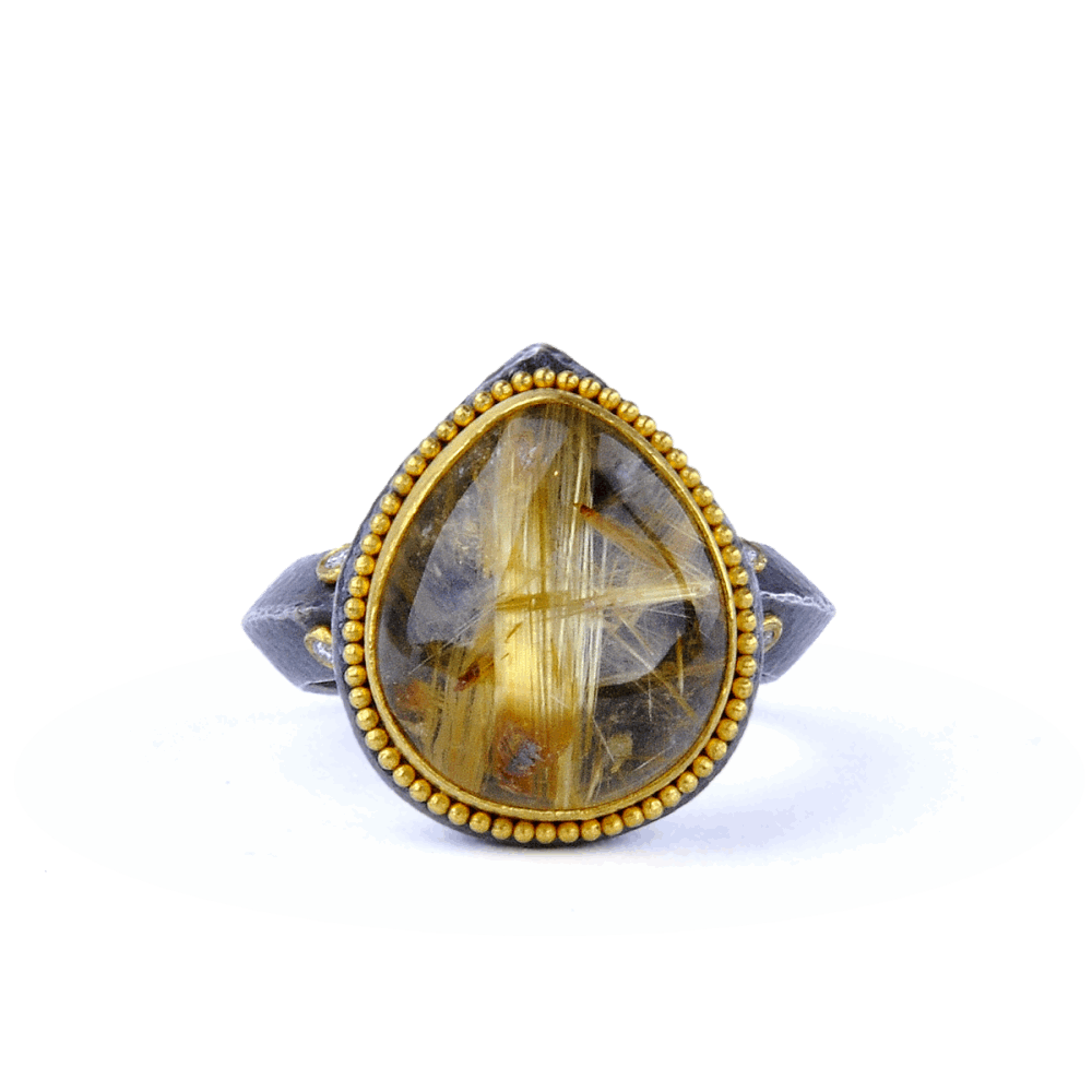 Kurtulan Rutilated Quartz Ring
