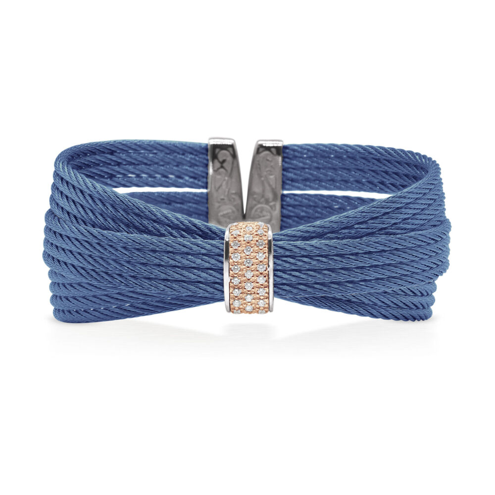 Image 2 for Blueberry Multi-Cable Bangle
