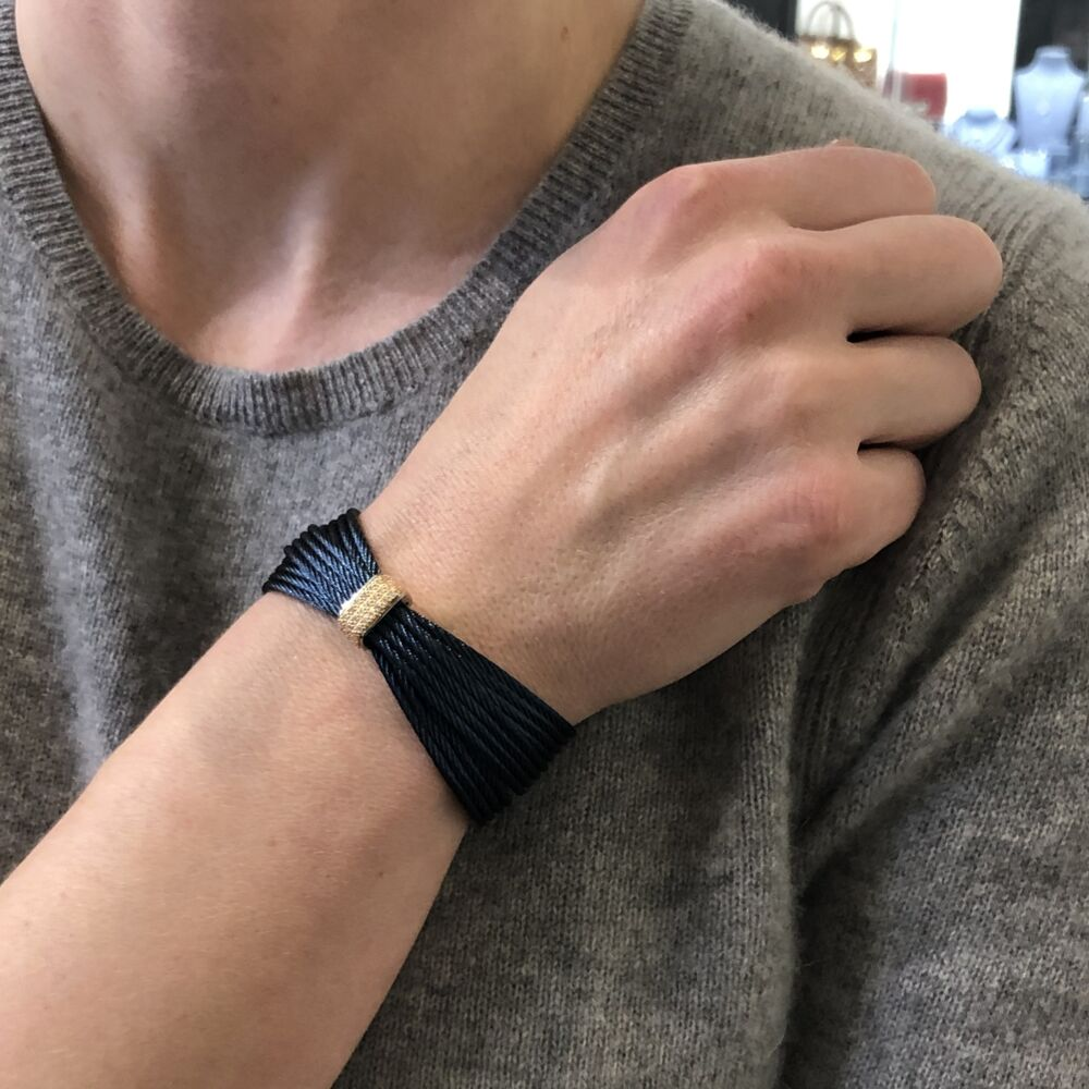 Blueberry Multi-Cable Bangle