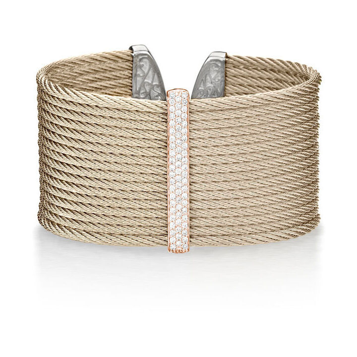 Image 2 for Classique Carnation Stacked Large Cuff