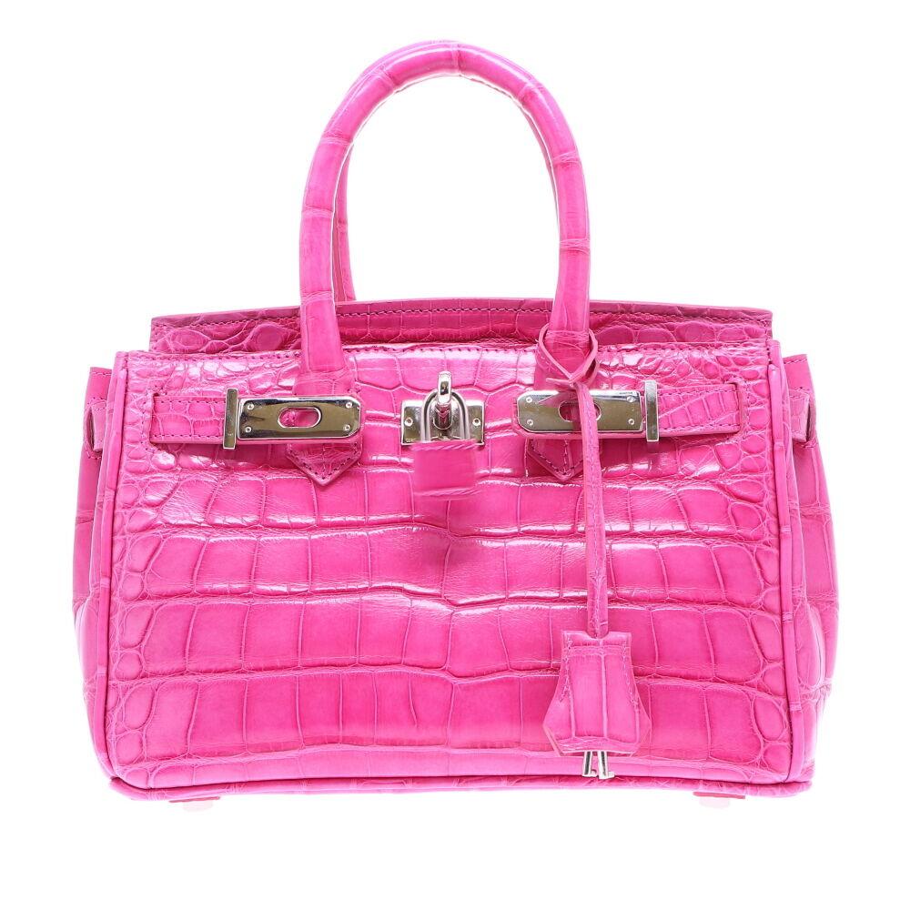 Classic 25 Pink Alligator
