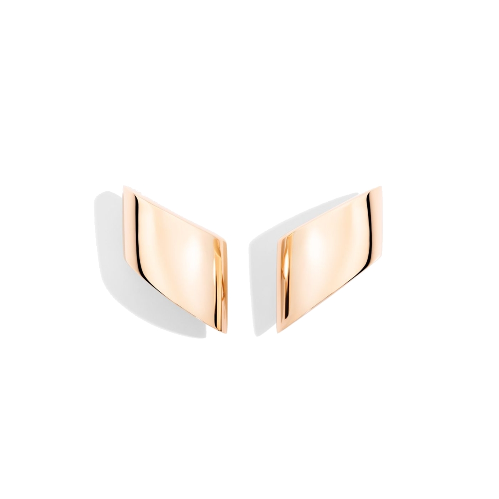 Earclips Pink Gold- Vague Medi