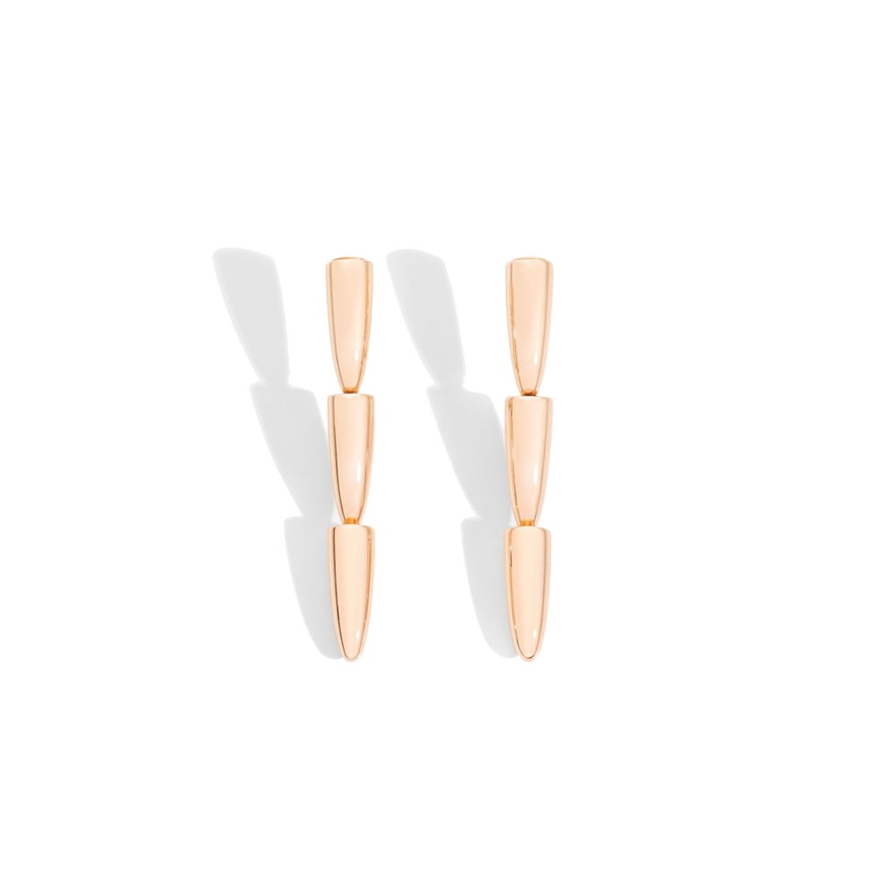 Calla Earclips Rose Gold