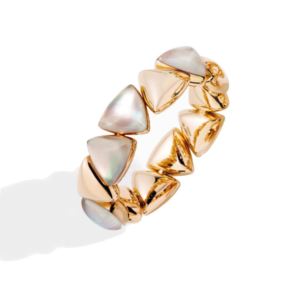 Bracelet Rose Gold- white mother of pearl
