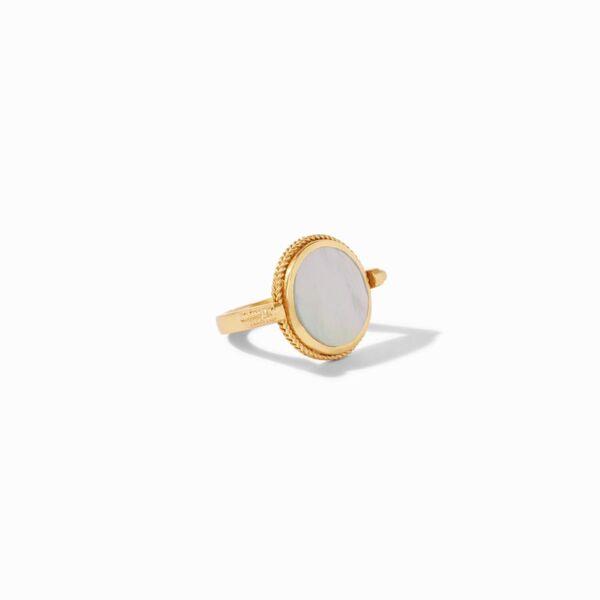 Closeup photo of Coin Revolving Ring