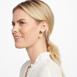 Closeup photo of Coin Midi Earring