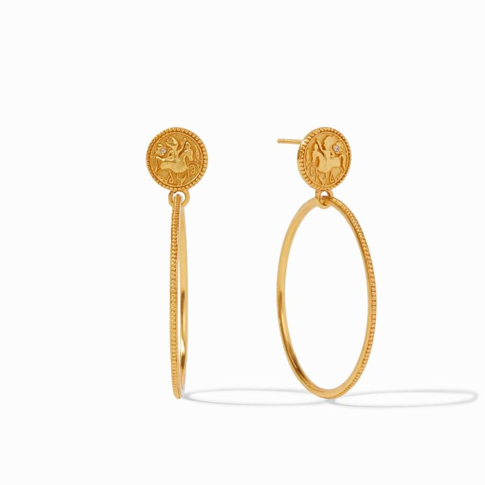 Coin Statement Earring