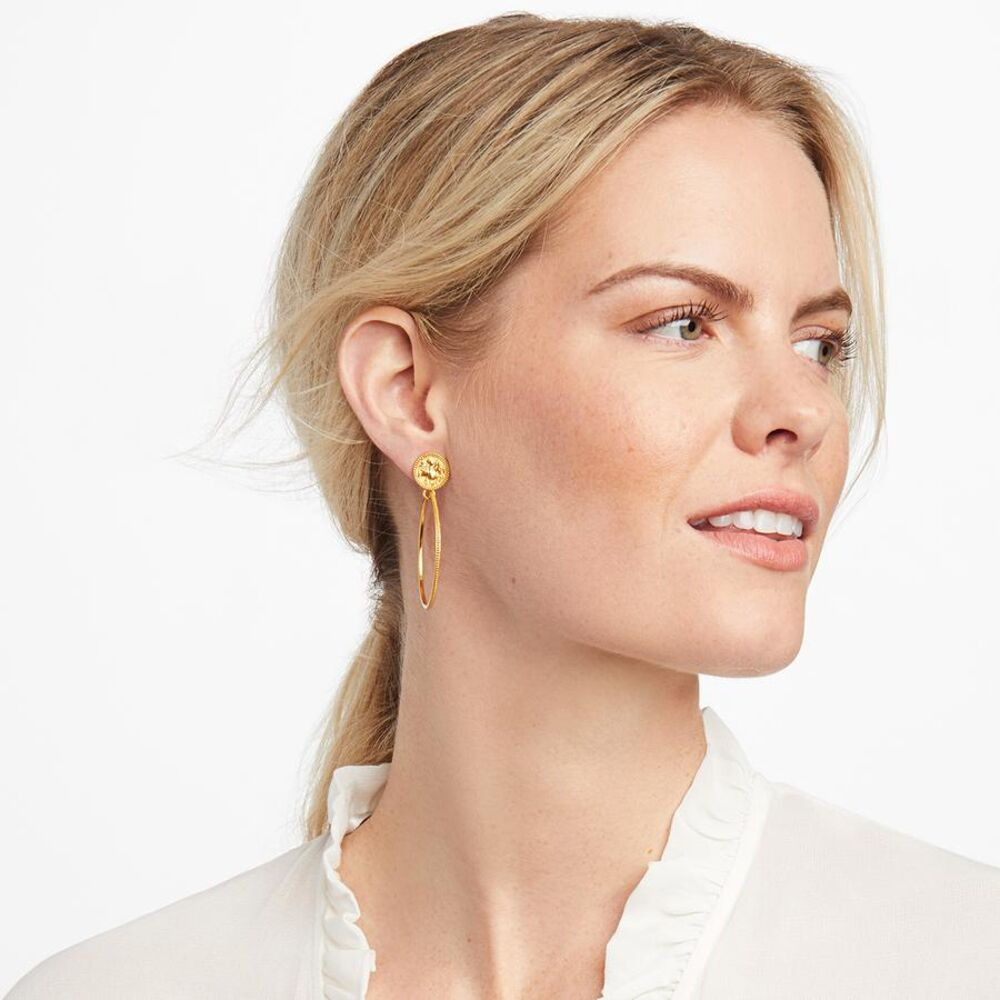 Image 2 for Coin Statement Earring