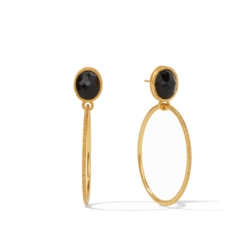 Closeup photo of Verona Statement Earrings