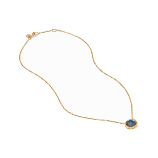 Closeup photo of Verona Solitaire Necklace