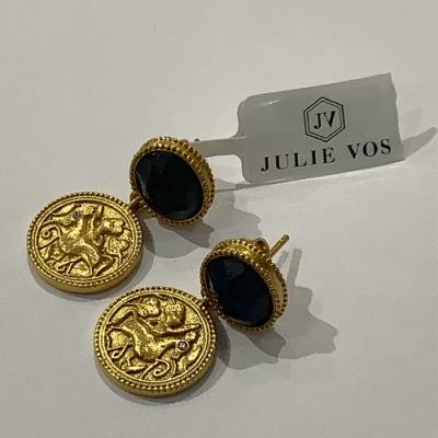 Coin midi earring